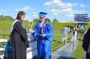 Noah Brodecki received his diploma from Board VP