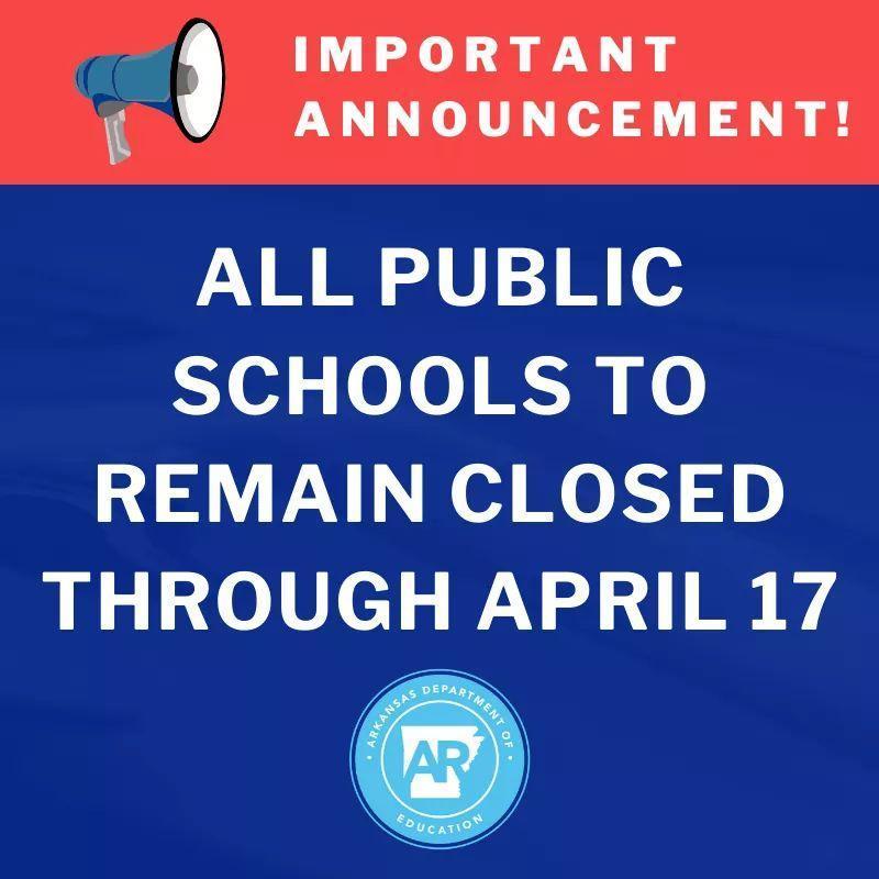 Closure announcement