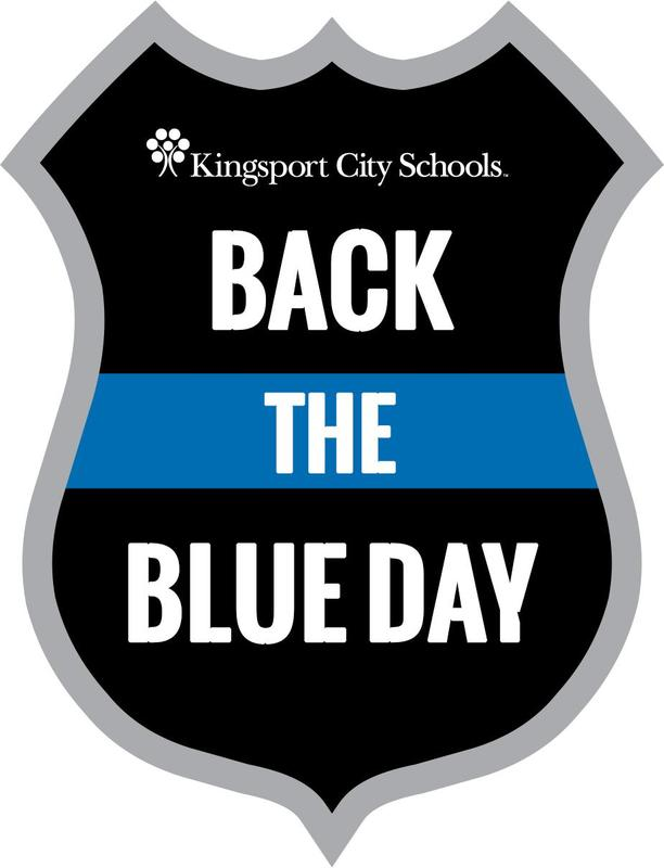 KCS Back the Blue logo