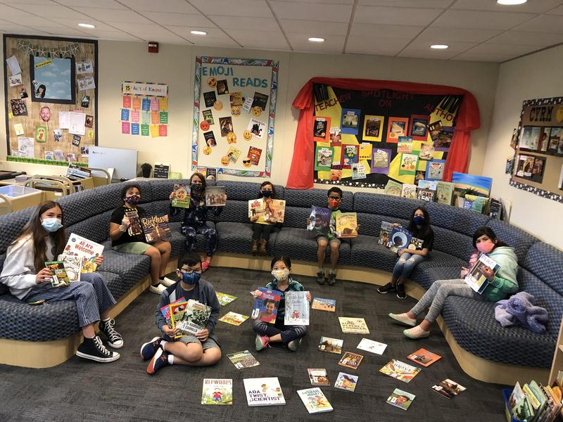 Fountain Valley Schools Foundation Library Donation Featured Photo