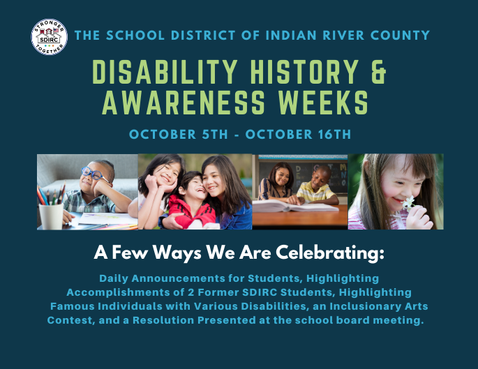 Disability History and Awareness Weeks Featured Photo