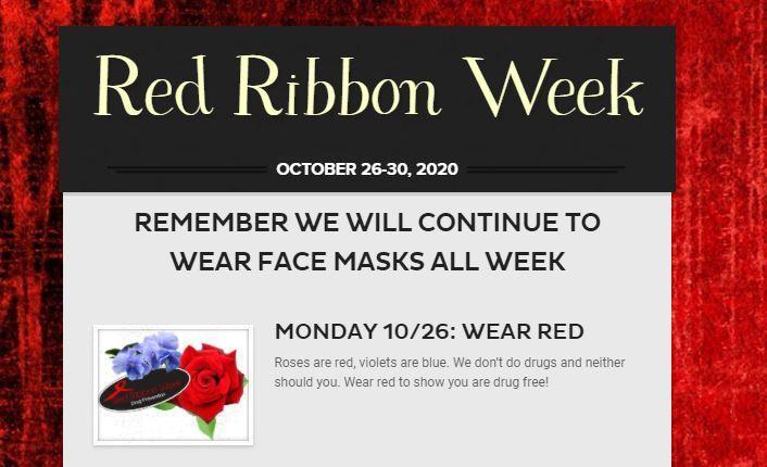 Red Ribbon Week 26-30