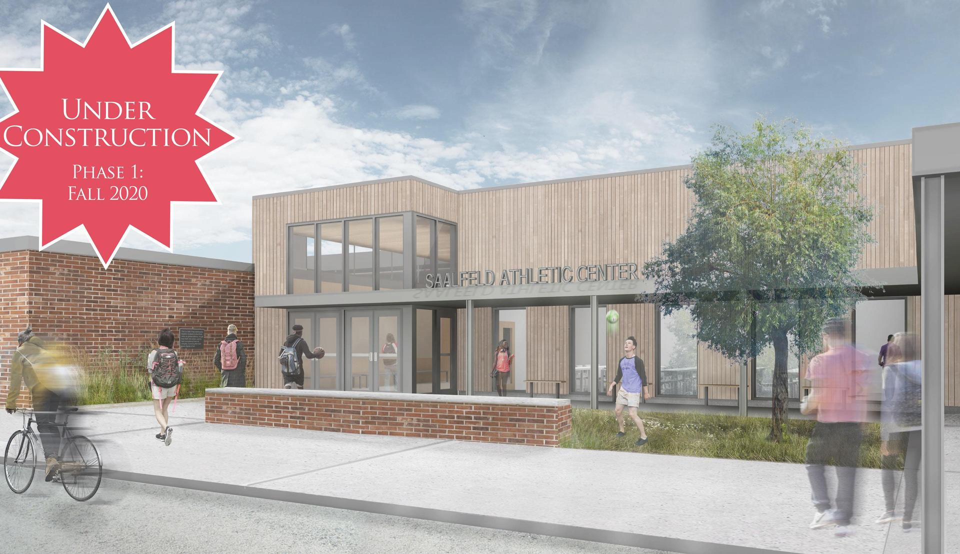 Saalfeld AtSaalfeld athletic center renderinghletic Center rendindering