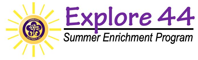 Explore 44 Enrichment Program graphic