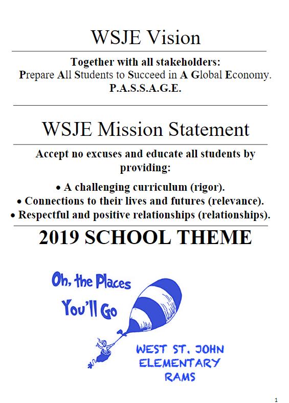 WSJE Mission Statement