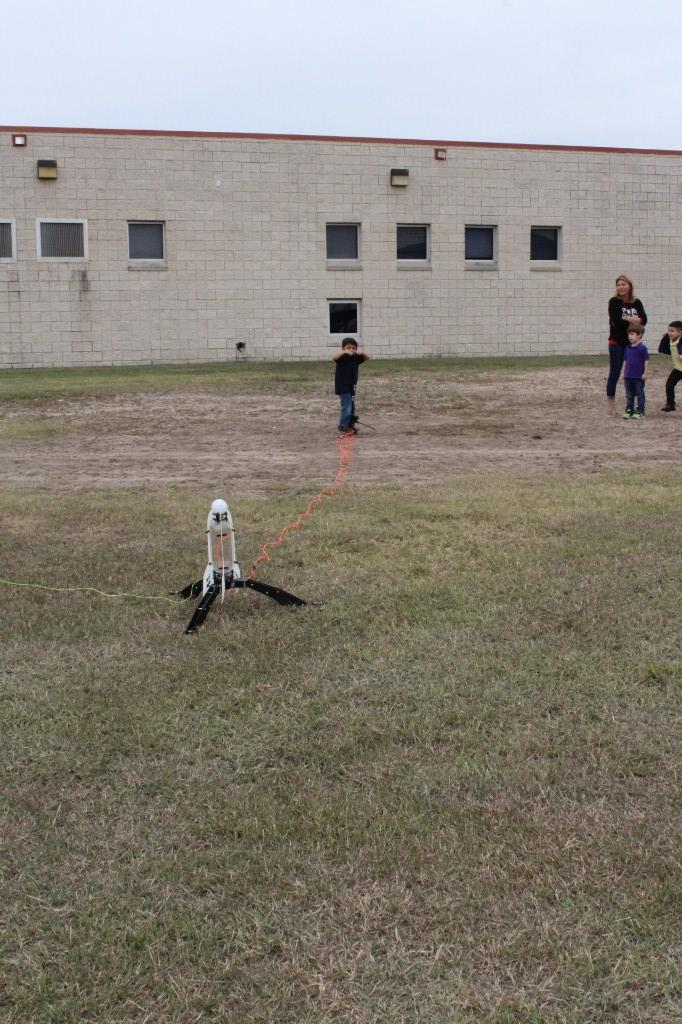 Pre-Kinder Rocket Launch Simulation