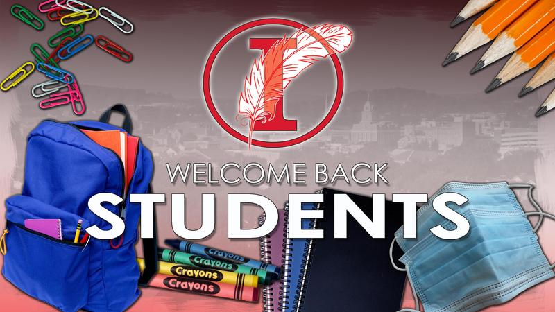 Welcome Back Students Poster