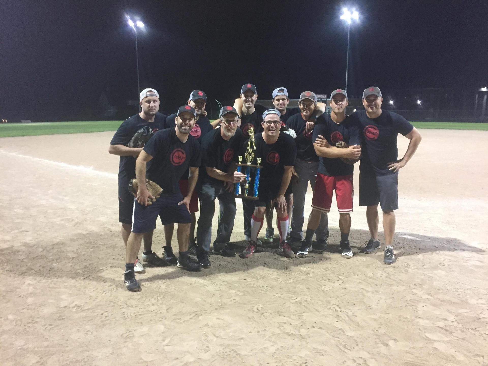 30+ Adult Softball champs