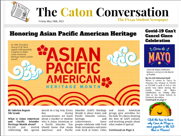 The Caton Conversation, Issue #3
