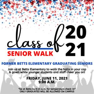 Image of Senior Walk flyer
