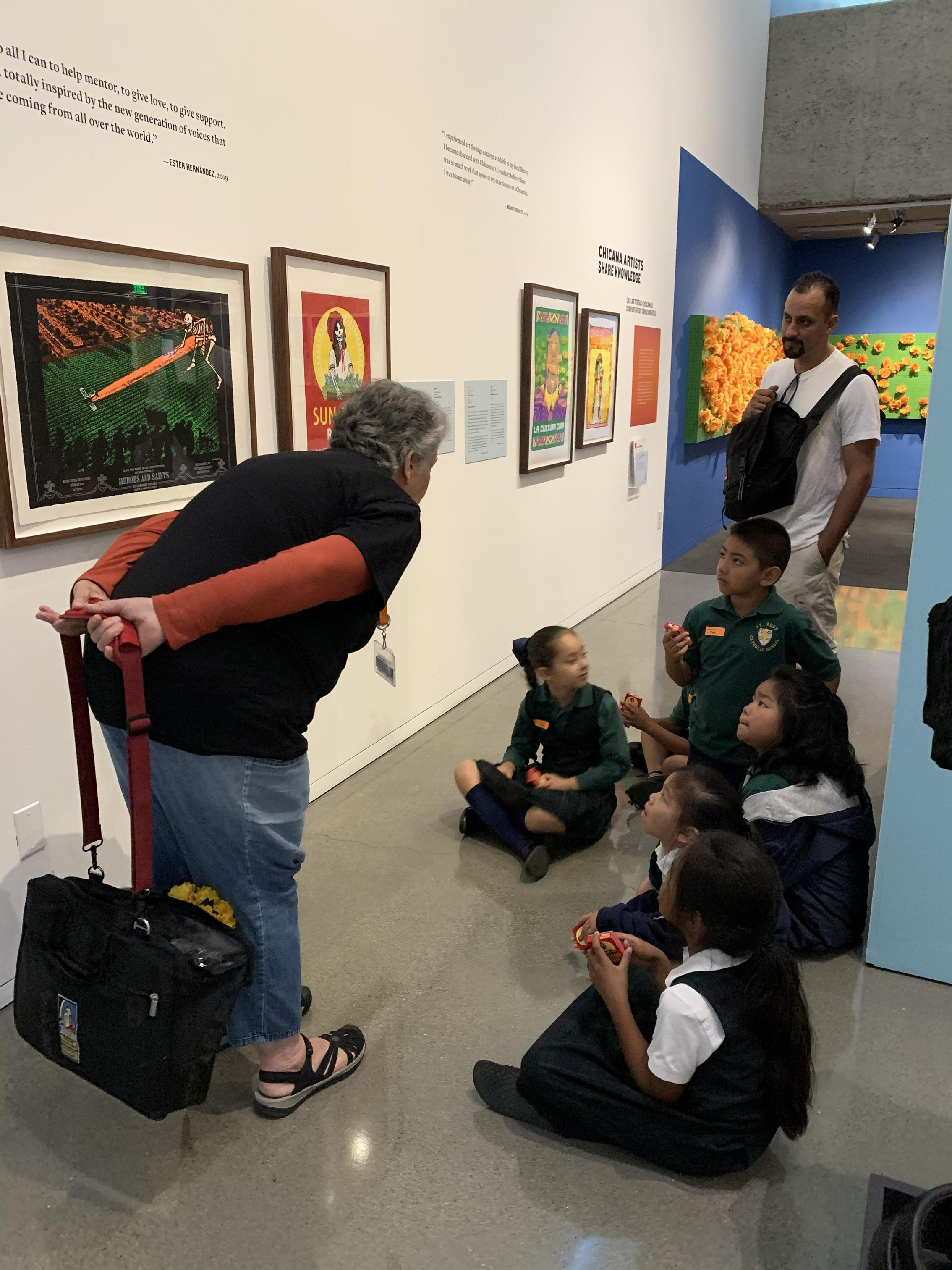 A fun field trip to the Oakland Museum.