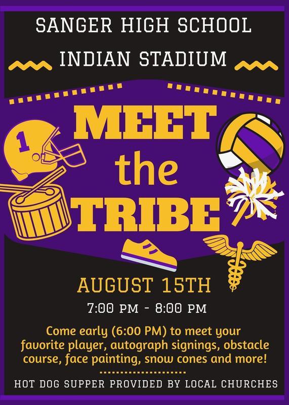 Aug 15th Meet the Tribe