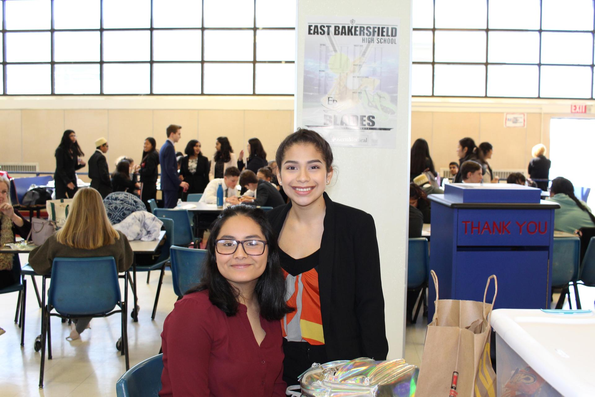 Chowchilla High students at the Valley Speech and Debate Championships
