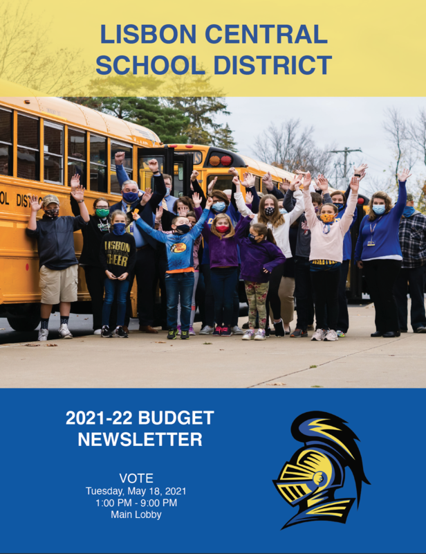 budget newsletter cover