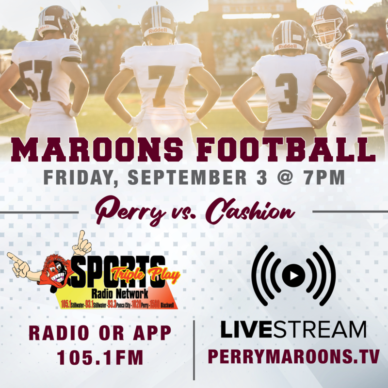 watch the game live on perrymaroons.tv or listen on the radio at 105.1fm