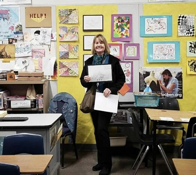 Ms. Mahaffey is LUSD's Educator of the Week Featured Photo