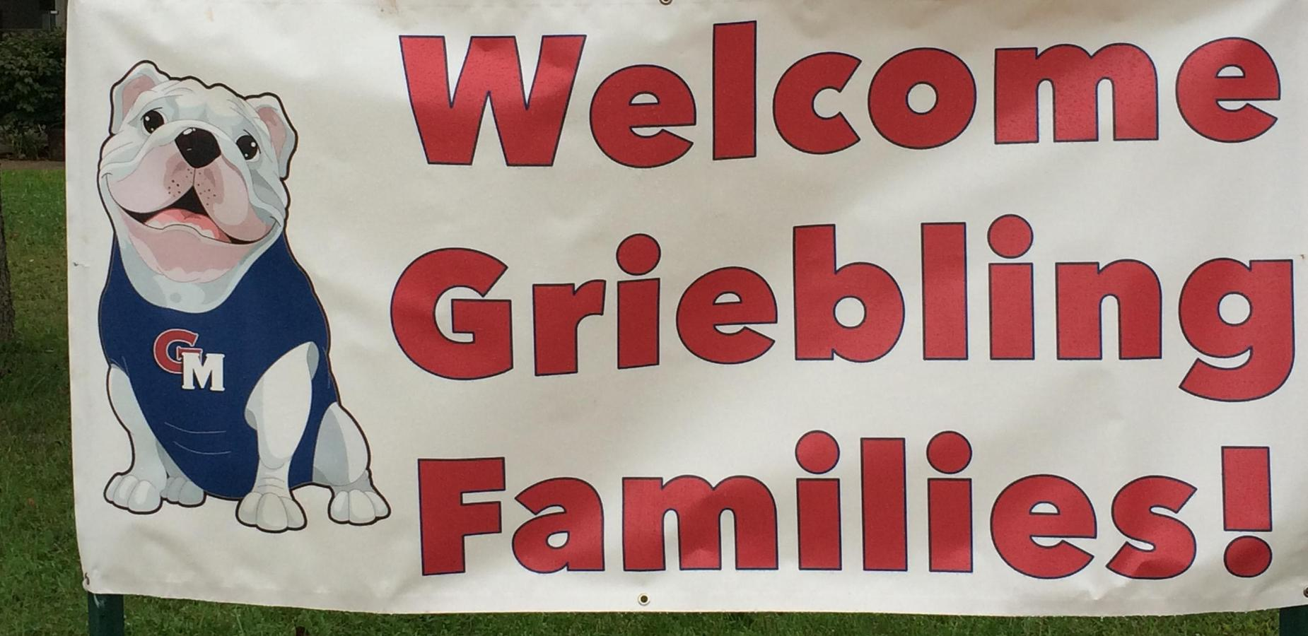 Welcome Griebling Families