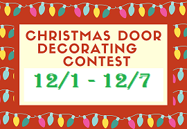 Door Decorating Contest - Sign up by 12/7/20! Featured Photo