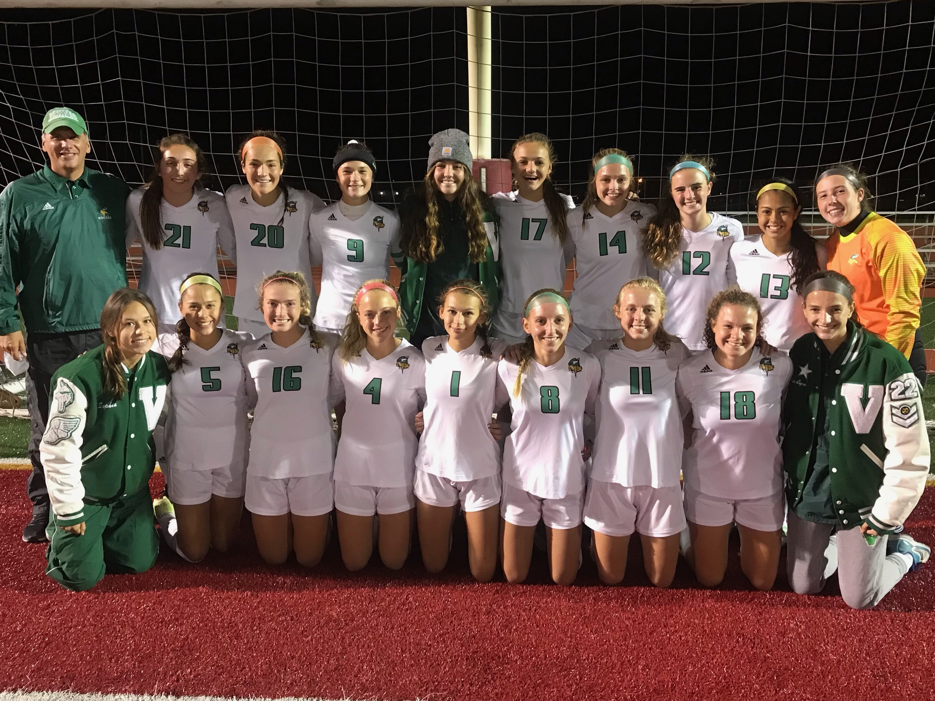Girls Soccer 2020 DAC Champs
