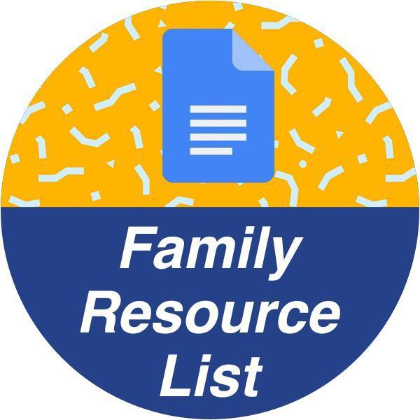 Family Resource List