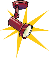 a graphic of a spotlight