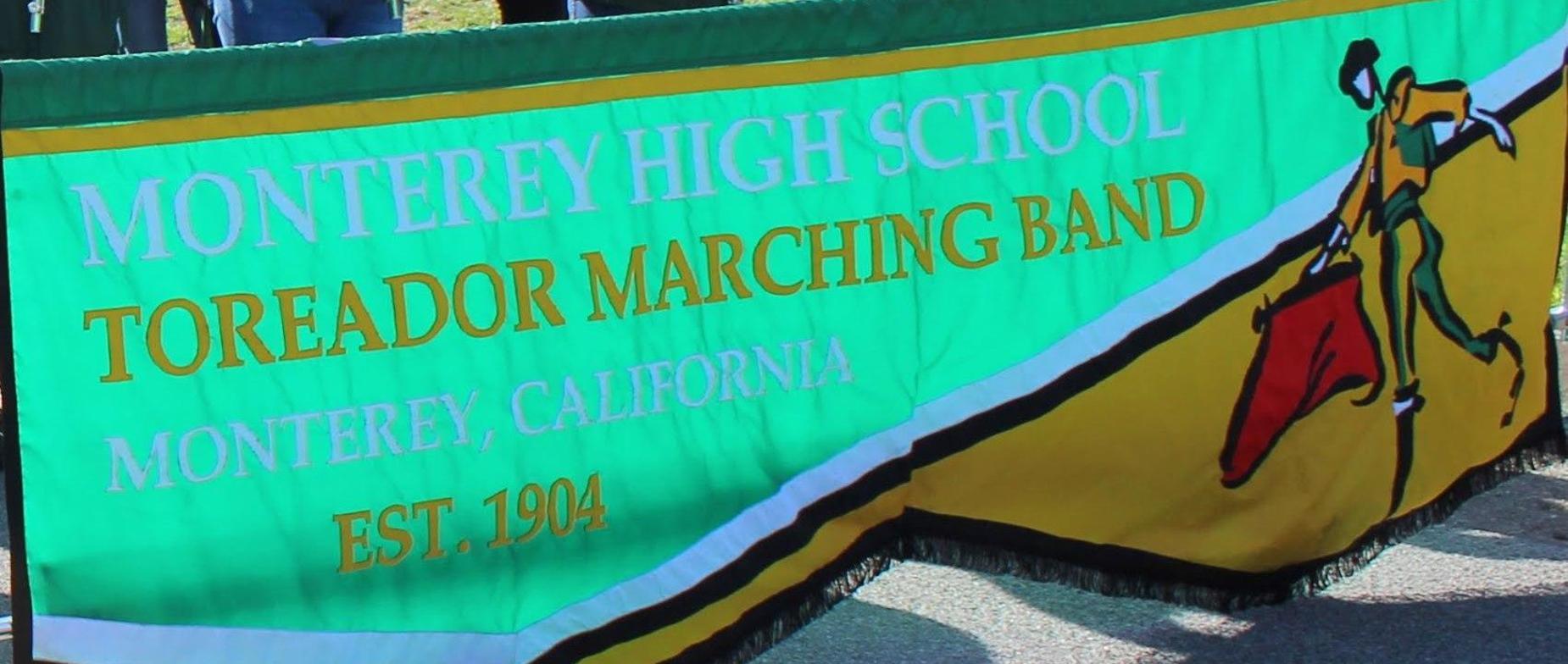 Marching Band Parade Sign