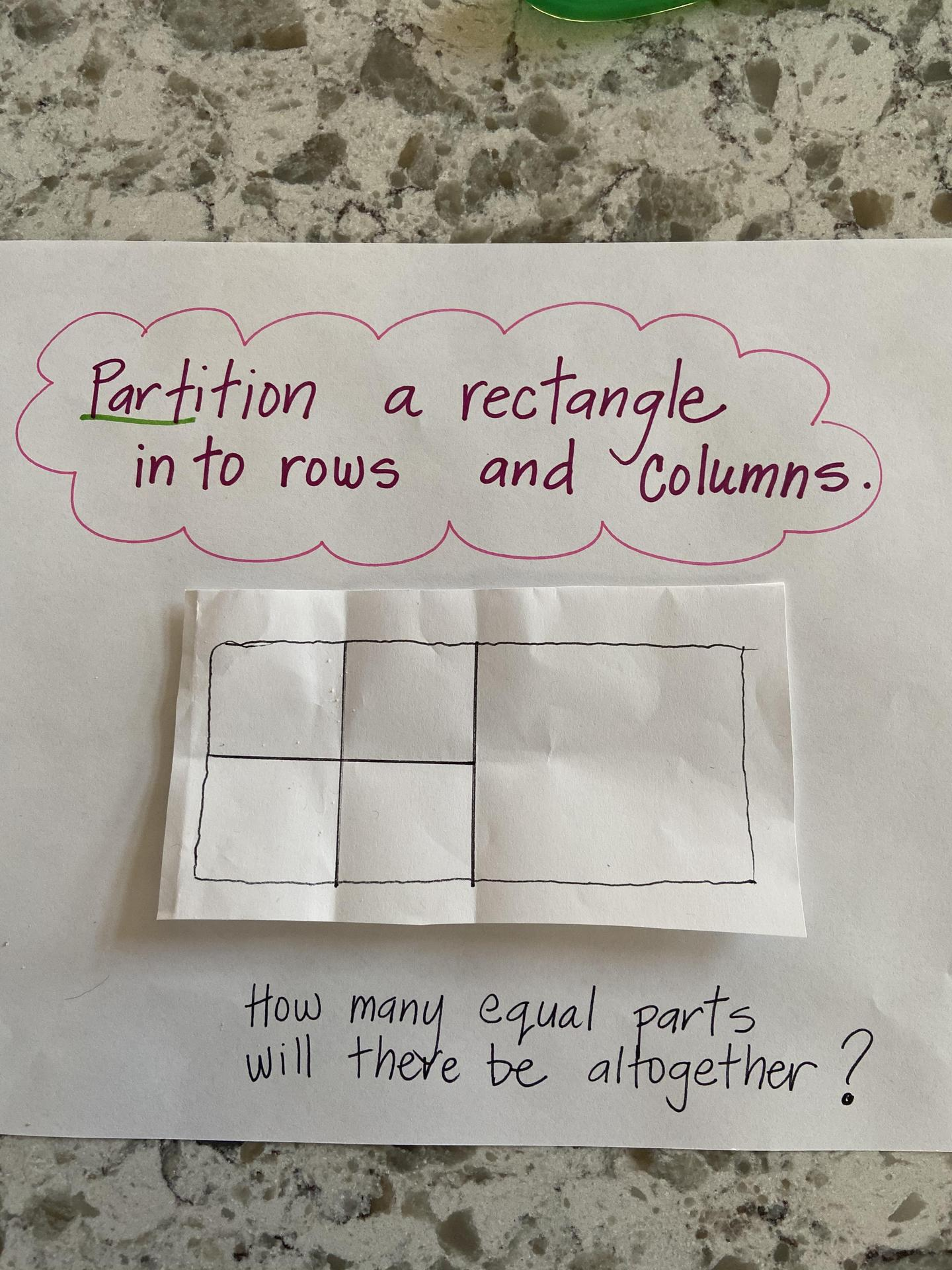 Partitioning a Rectangle