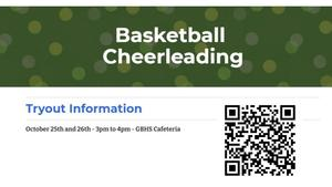 Cheer tryout information