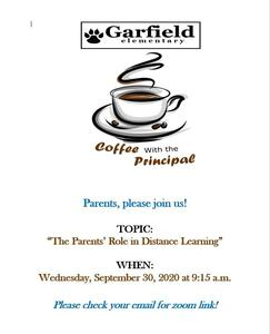 Principal's Coffee Talk Featured Photo