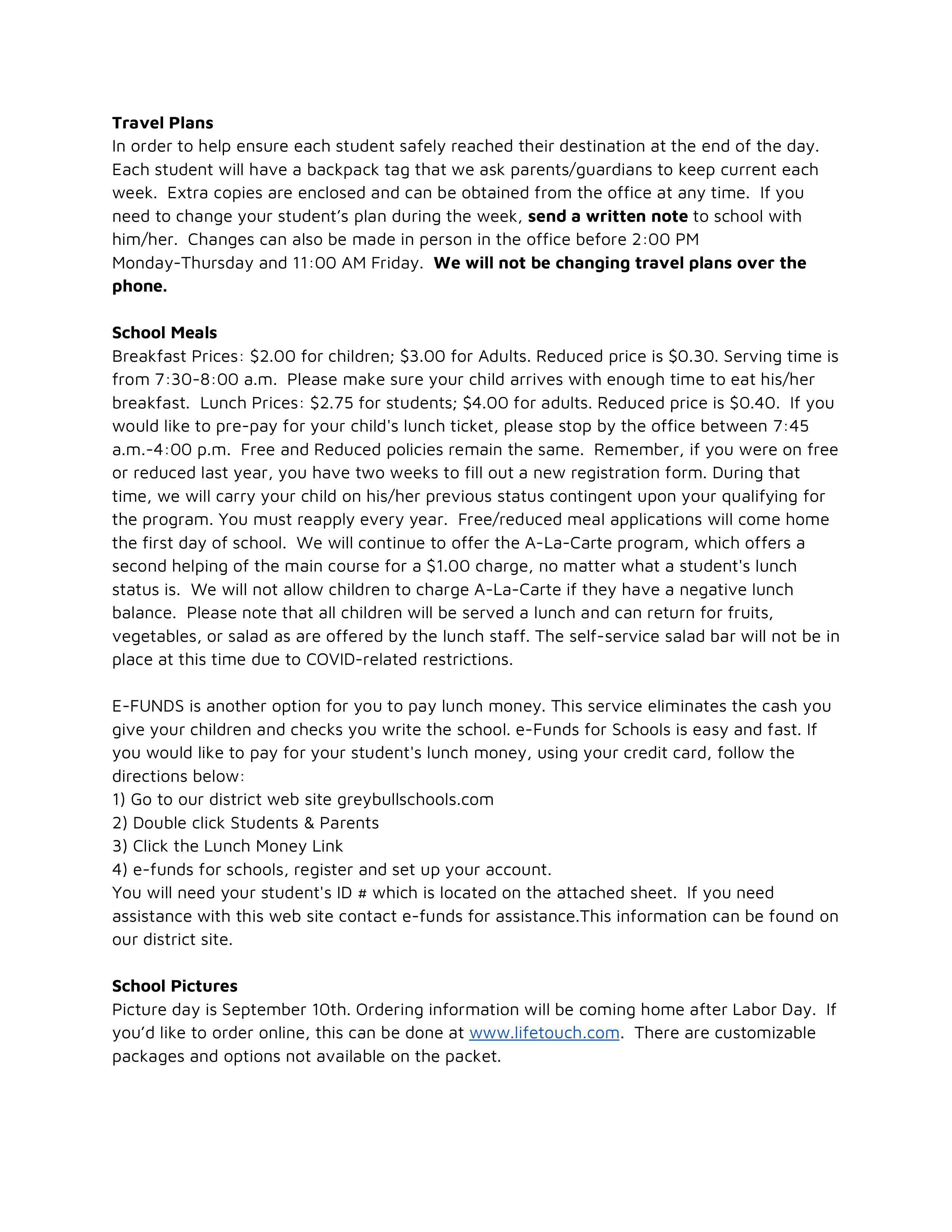 Parent Letter Page 2