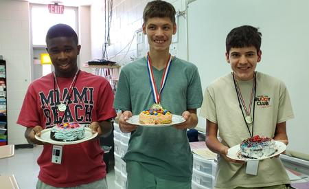 Kean's Cake Competition Winners