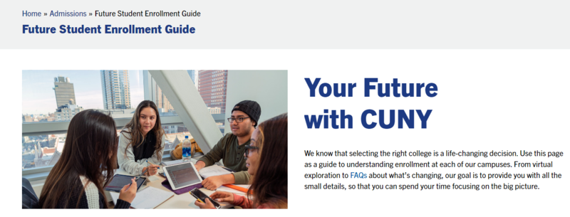 CUNY Future Student