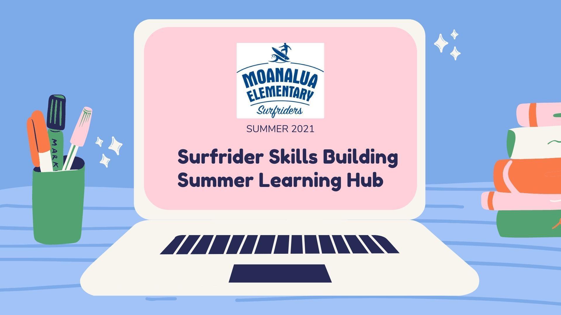 Summer learning hub 2021