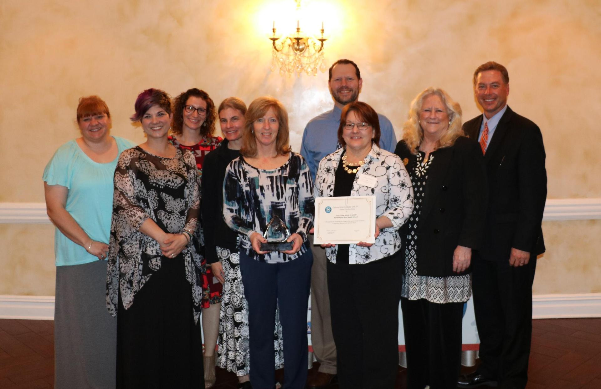 EIE award winners