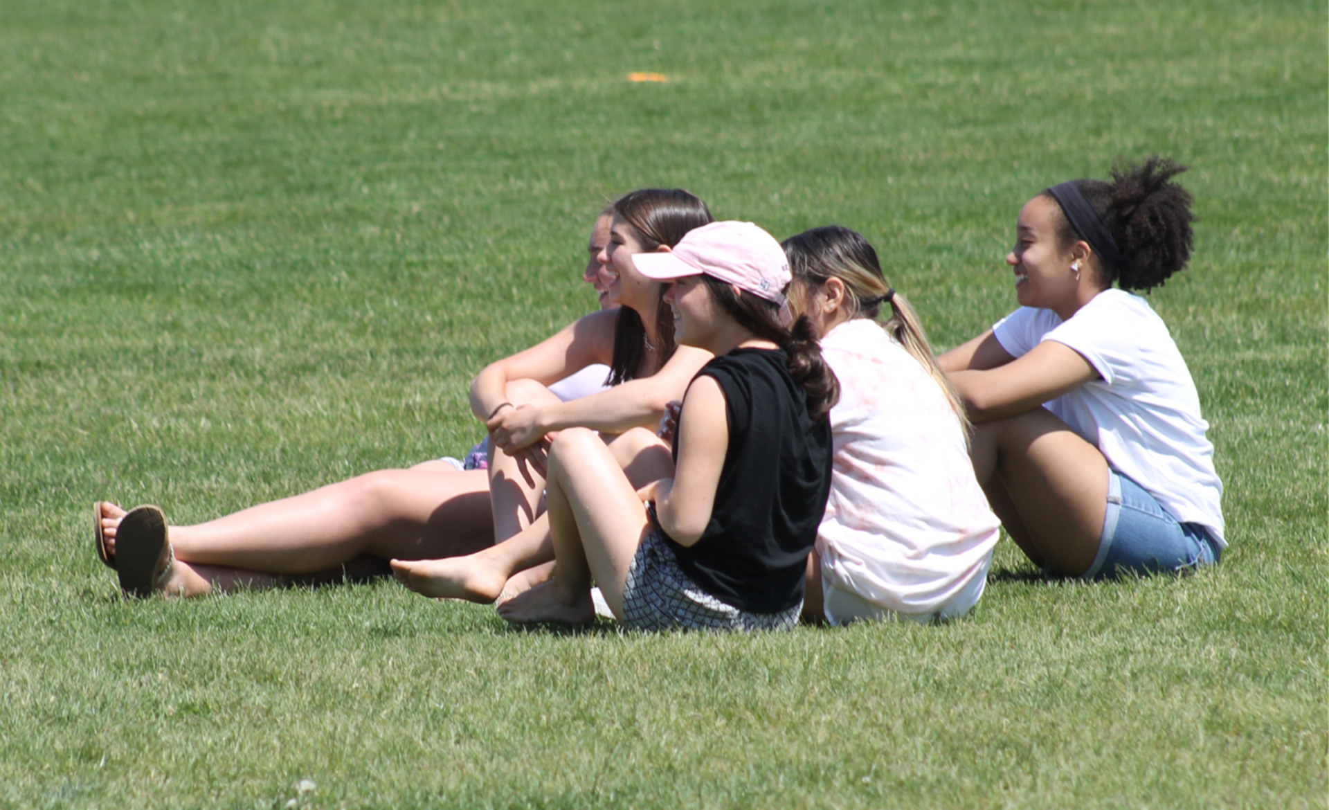 girls on the field
