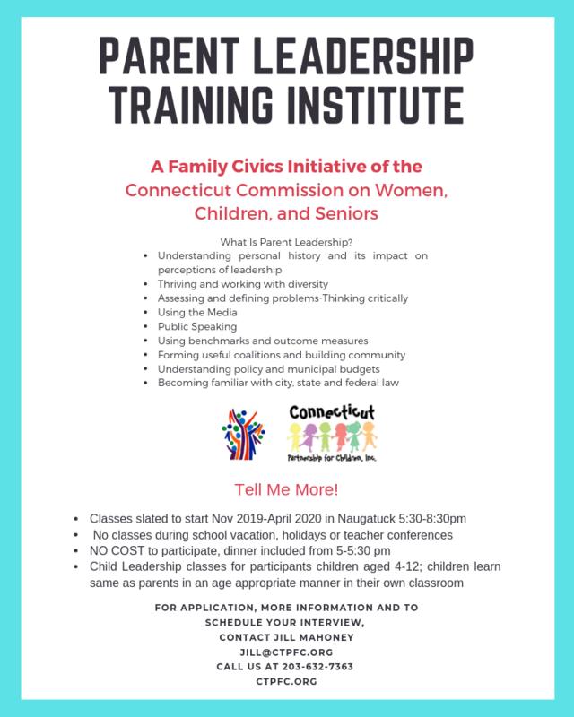 Parent Leadership Flyer