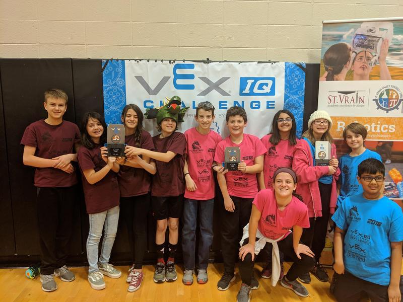 Flagstaff Academy Hosts VEX IQ Robotics Tournament Thumbnail Image