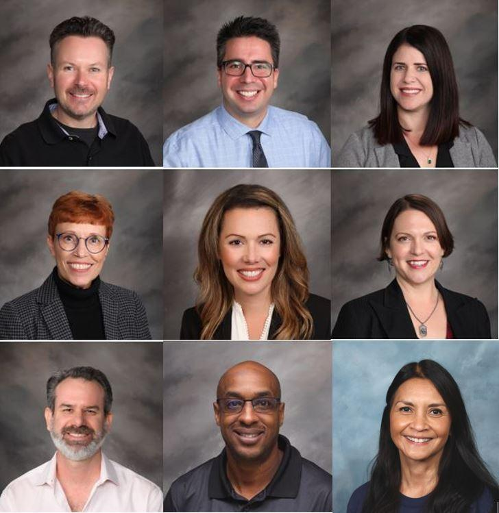 COLLAGE OF STAFF PHOTOS