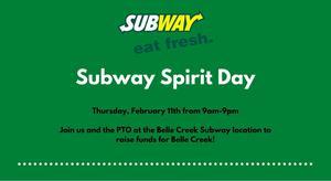 Subway Spirit Day