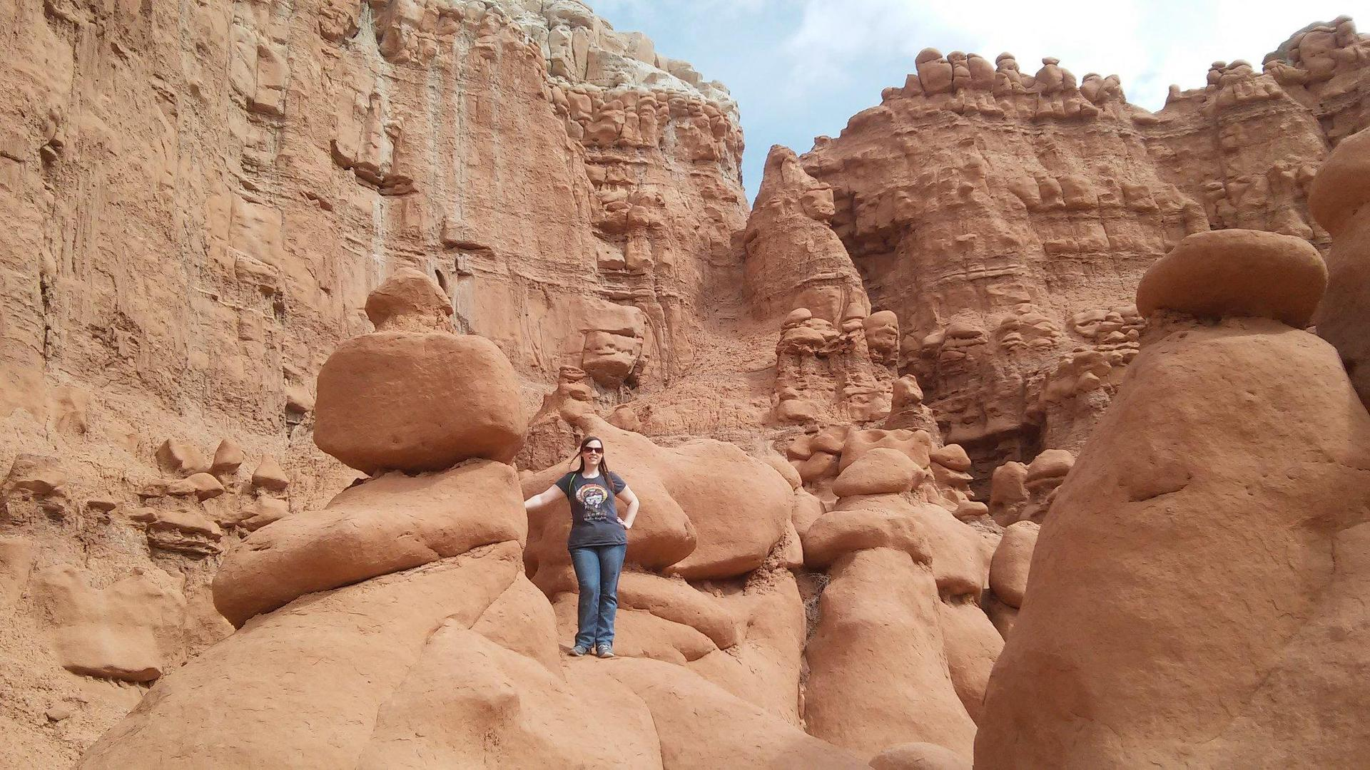 I love exploring! Goblin Valley was really cool!