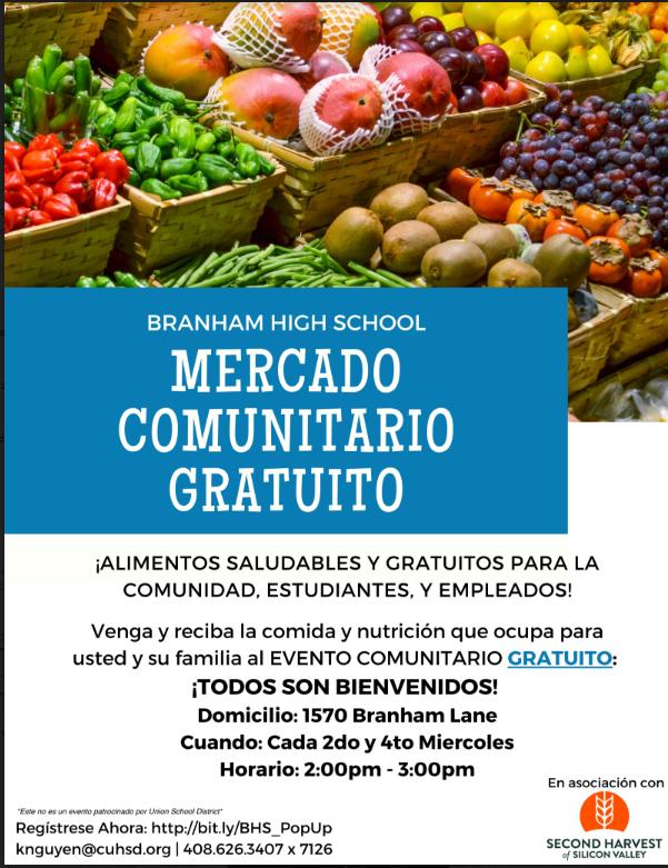 Branham Free Market Flyer