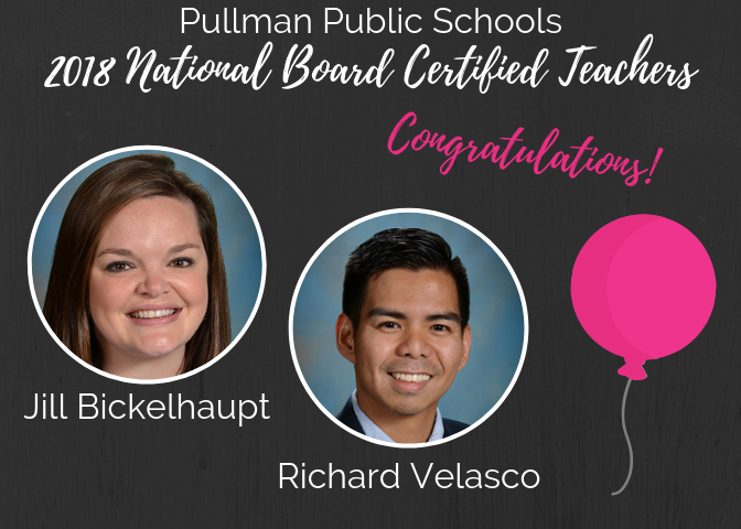 Congrats to our newest National Board Certified Teachers! We're so proud of you! Thumbnail Image