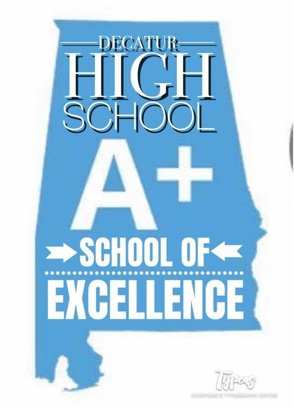 Decatur High School is named an A+ School of Excellence