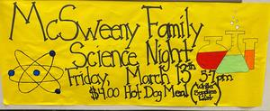 Family Science Night Poster
