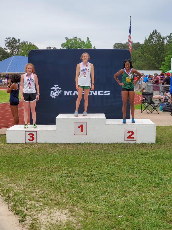 McComb High School Girls 4A Scholar takes home medal during State Track Meet 2021