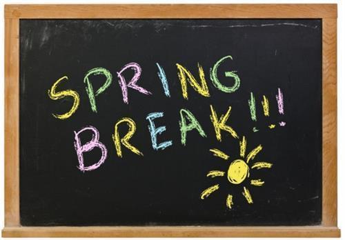 Spring Break April 1st - 5th Thumbnail Image