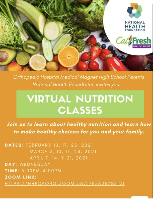 Ortho Virtual Nutrition Classes for Parents Featured Photo