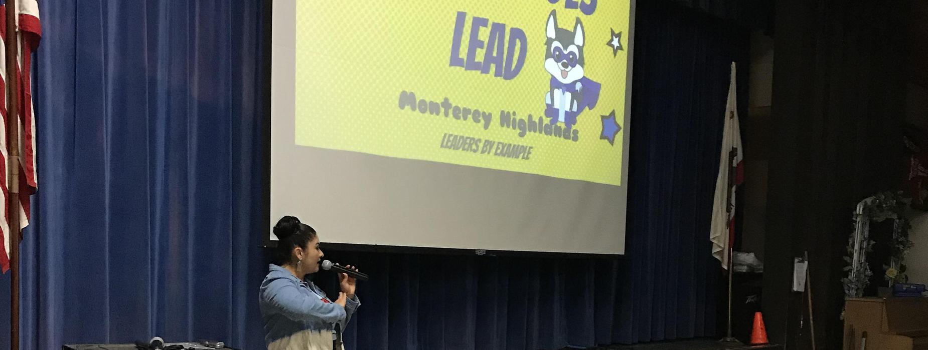 Huskies Lead by Example Presentation