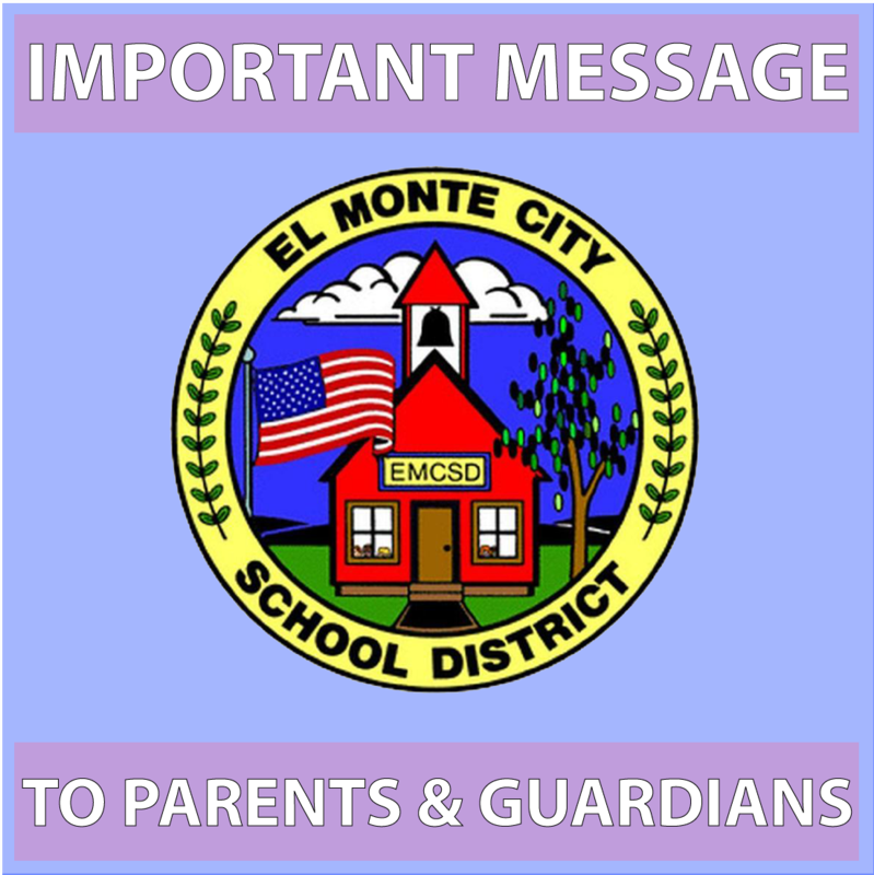 Important Message to Parents & Guardians