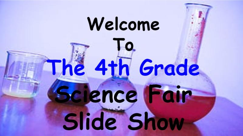 4th Grade Science Fair Slideshow Thumbnail Image